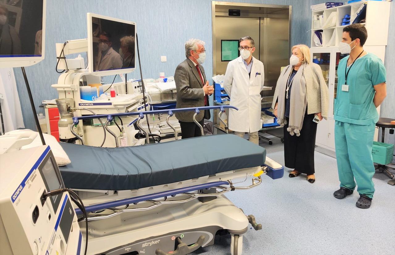 El Hospital Infanta Elena incorpora dos nuevas torres de endoscopia de alta gama para mejorar la detección del cáncer