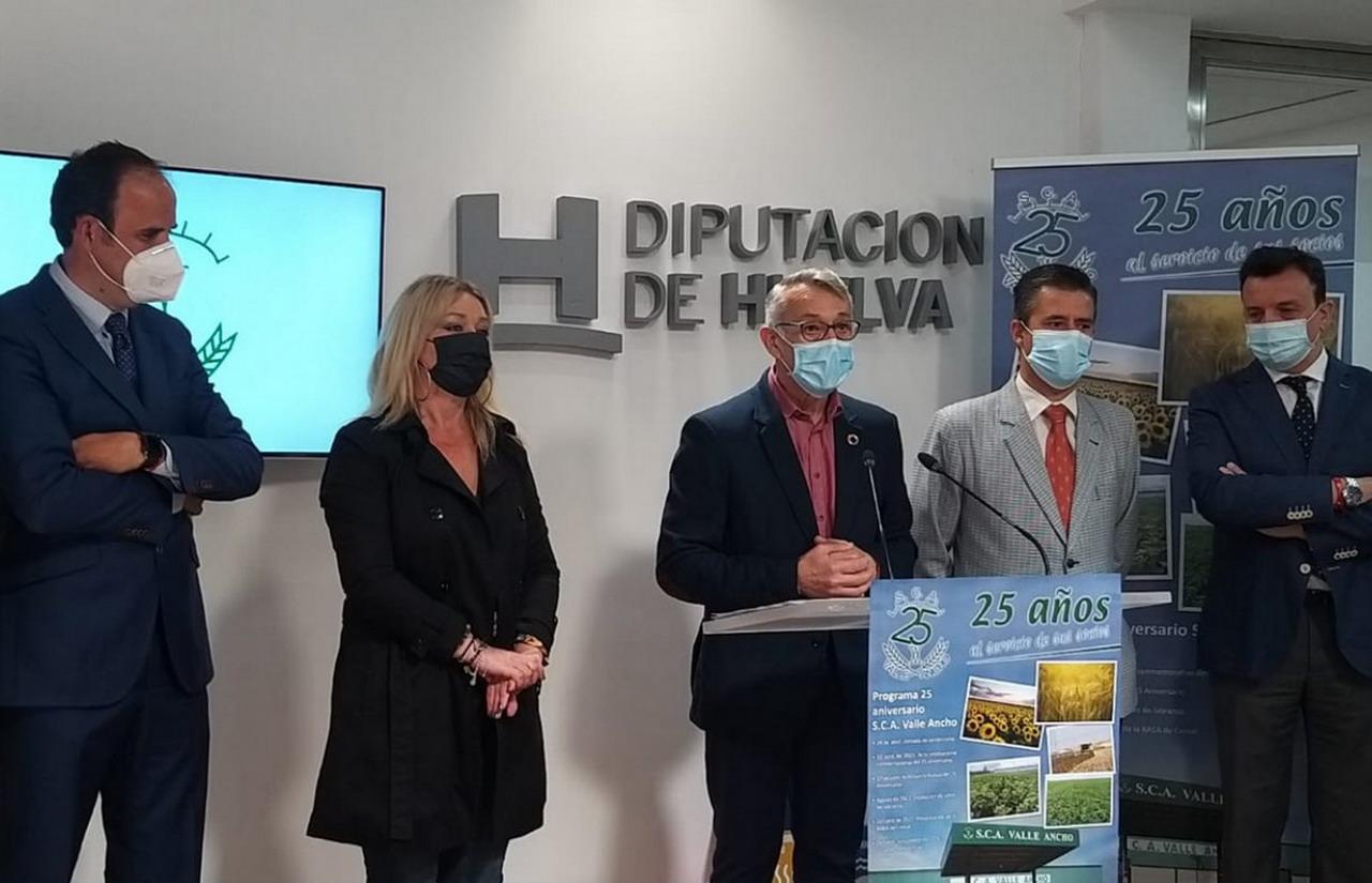 """La cooperativa """"Valle Ancho"""" de San Juan del Puerto cumple 25 años"""