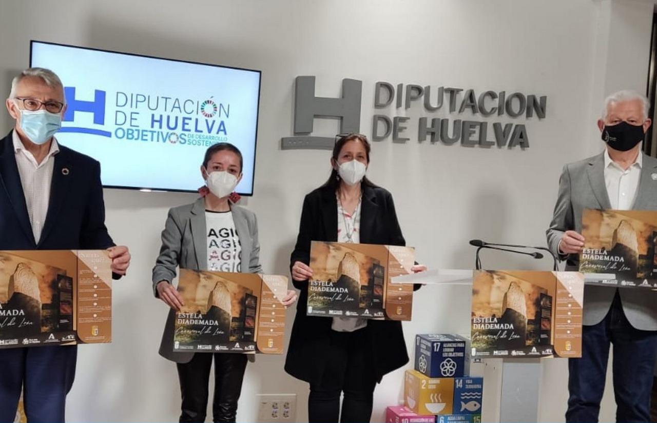 Cañaveral de León celebra el tercer aniversario del descubrimiento de la Estela Diademada