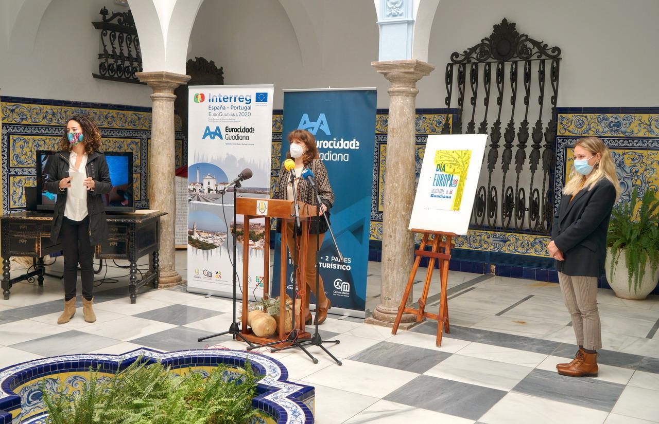 La Eurociudad del Guadiana presenta el cartel y el programa de actos del Día de Europa