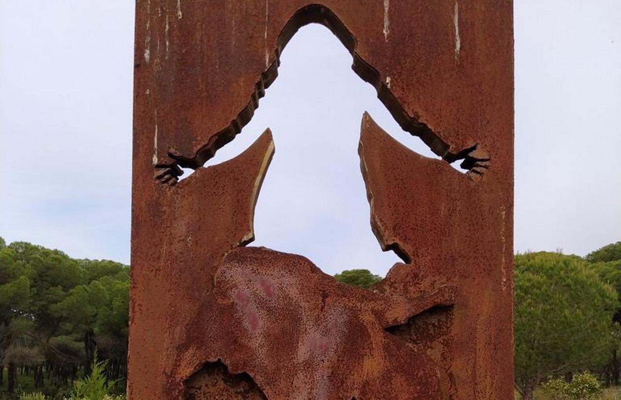 El Grupo Socialista de Aljaraque reclama la reparación del monumento a la Memoria Histórica