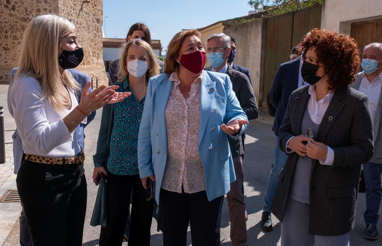 María Eugenia Limón destaca la restauración de la Muralla de Niebla como incentivo para fomentar el turismo cultural
