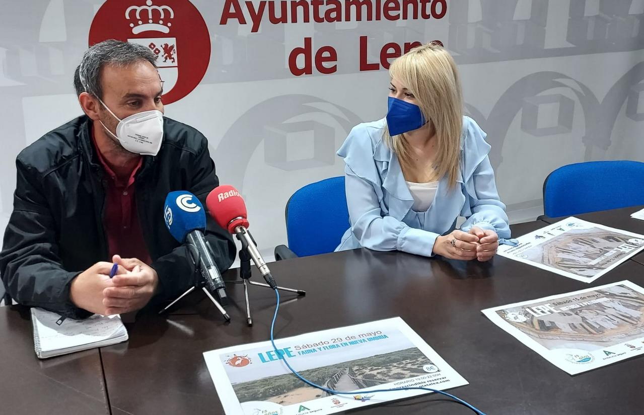 Ayuntamiento de Lepe y la empresa Platalea presentan las nuevas rutas turísticas «Historia y patrimonio» y «Fauna y flora en Nueva Umbría»