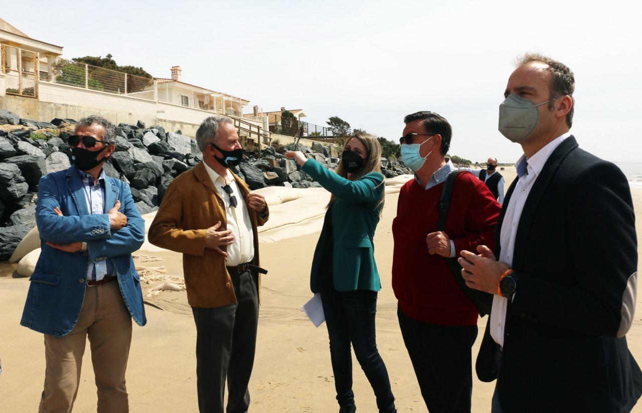 """Ponce: """"En Ciudadanos no vamos a parar hasta que el Gobierno dé una solución definitiva a las playas de El Portil y Nuevo Portil"""""""