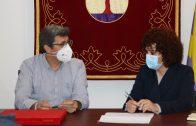 La presidenta de la Diputación visita en la Sierra actuaciones de mejora en el patrimonio y los recursos turísticos