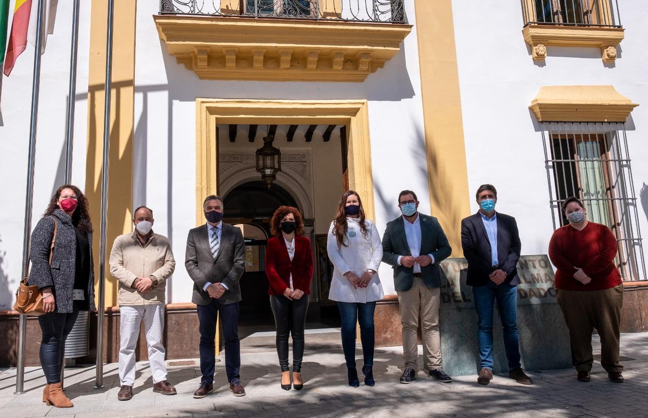 El sector vitivinícola y el Camino Natural del Tinto centran el 'Pueblo a pueblo' de Limón en Bollullos y La Palma