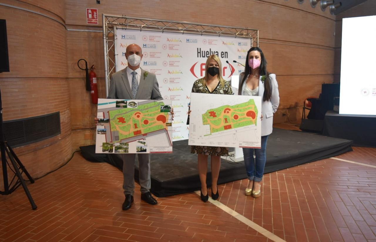 El Ayuntamiento de Lepe presenta en Fitur 2021 el proyecto del nuevo parque «Flecha de Nueva Umbría»