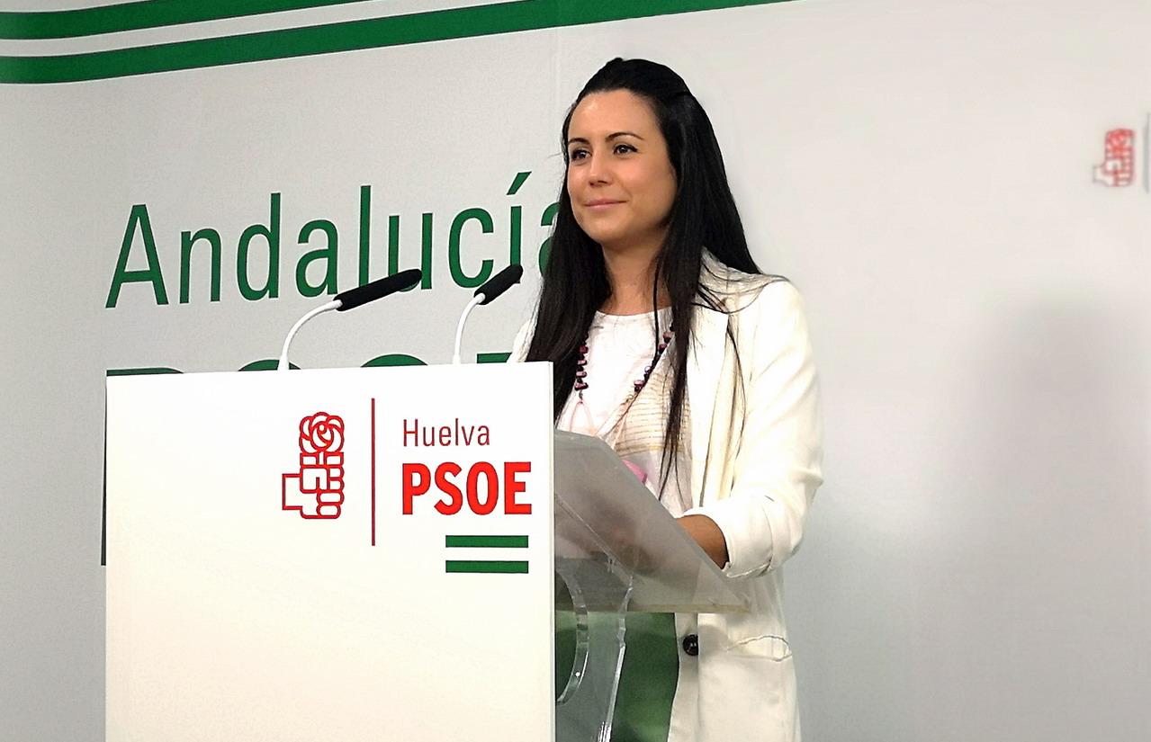 Bella Canales acusa al PP de falta de gestión en el concierto del Hospital Virgen Bella de Lepe