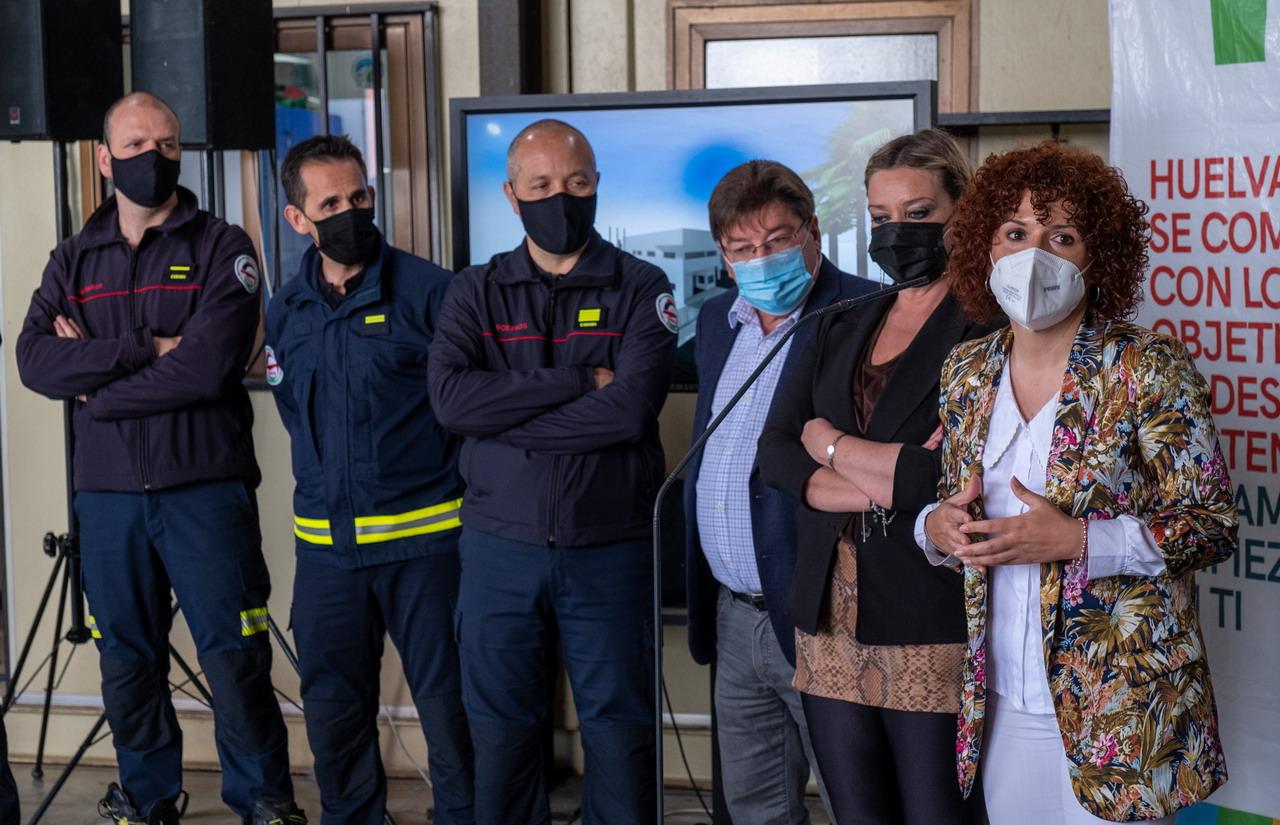 Diputación invertirá 1'5 millones de euros en la construcción de un parque de bomberos en San Juan del Puerto