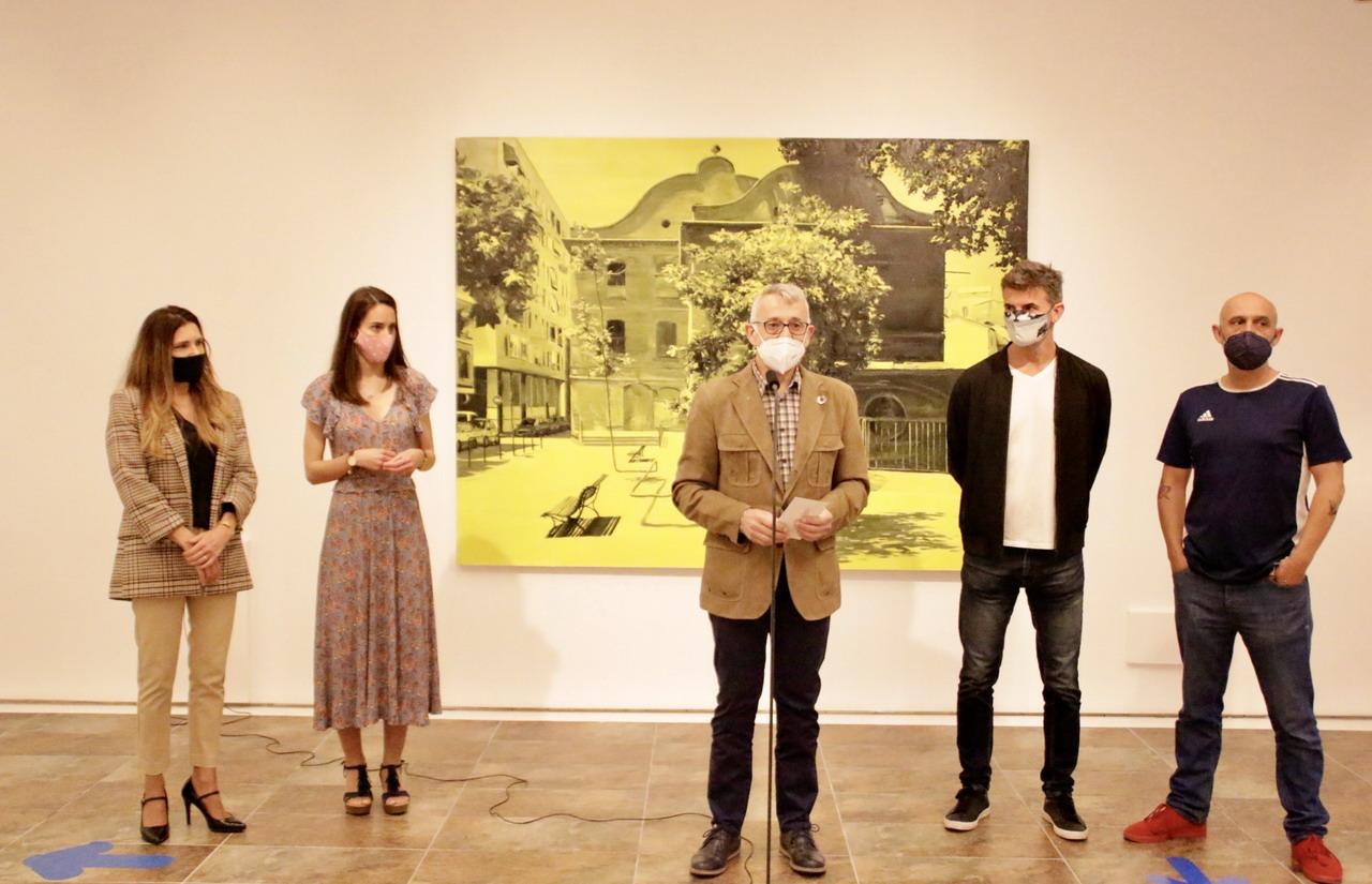 Artistas becados con la Daniel Vázquez Díaz homenajean la influencia del pintor en el arte contemporáneo