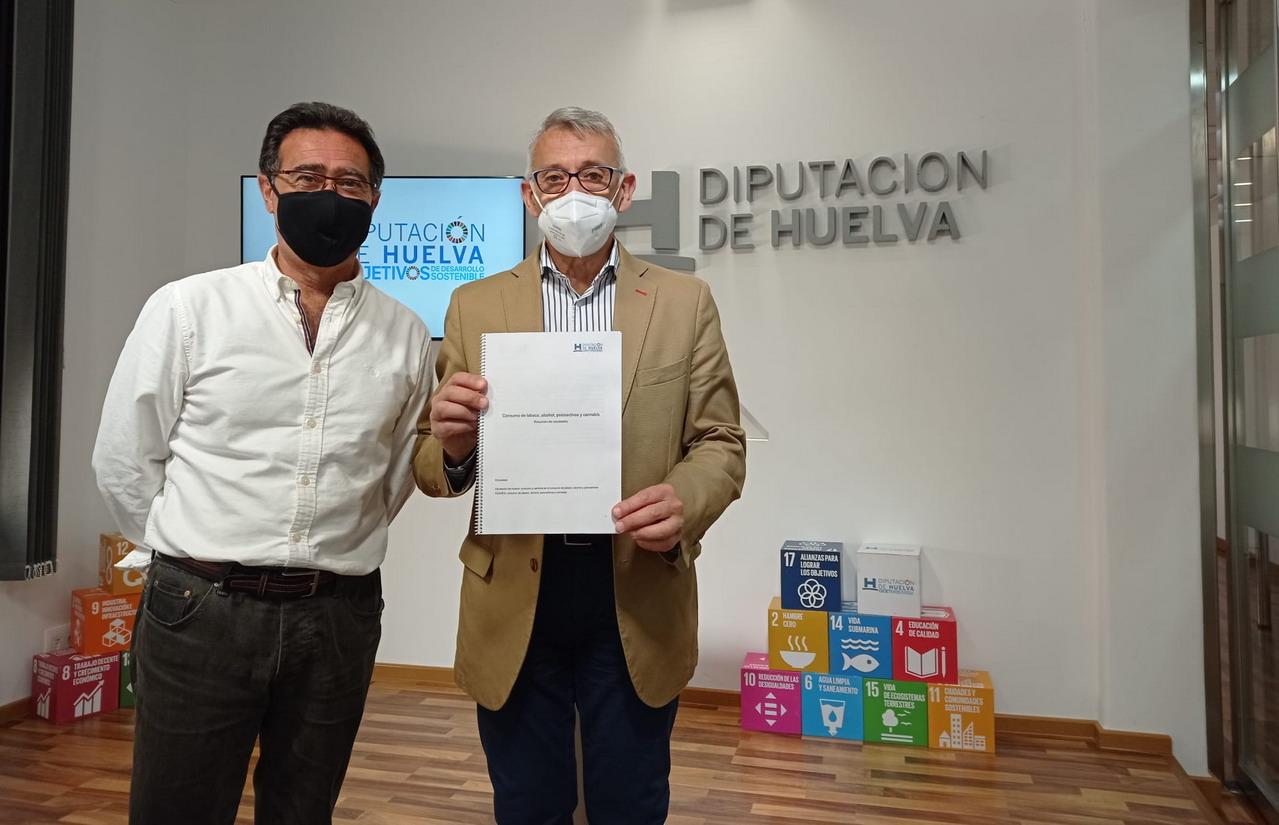 Diputación realiza una encuesta sobre los hábitos de consumo de sustancias psicoactivas en la provincia durante el confinamiento