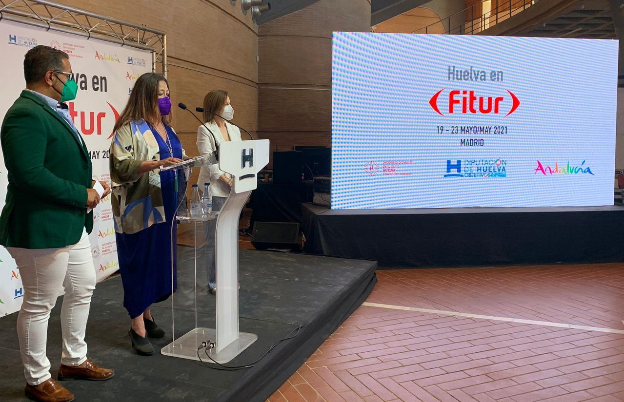 Punta Umbría se posiciona en FITUR como destino saludable para relanzar el sector