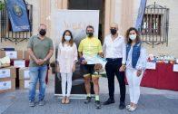 ASPREATO recibe más de 600 kilos de alimentos recaudados gracias al reto solidario «Camino de la Esperanza»