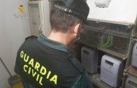 La Guardia Civil detiene a 20 personas en una operación contra delito de defraudación de fluido electrico