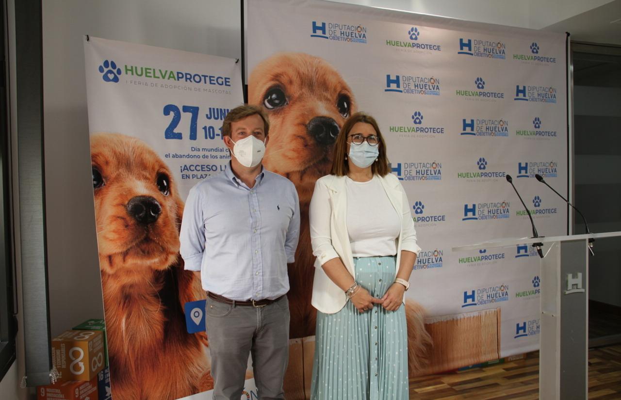 La I Feria de adopción de mascotas 'Huelva Protege' se celebrará el domingo en el Foro Iberoamericano de La Rábida