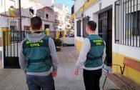 La Guardia Civil desarticula un grupo criminal dedicado a la venta y distribución de drogas y menudeo en Isla Cristina y zonas próximas