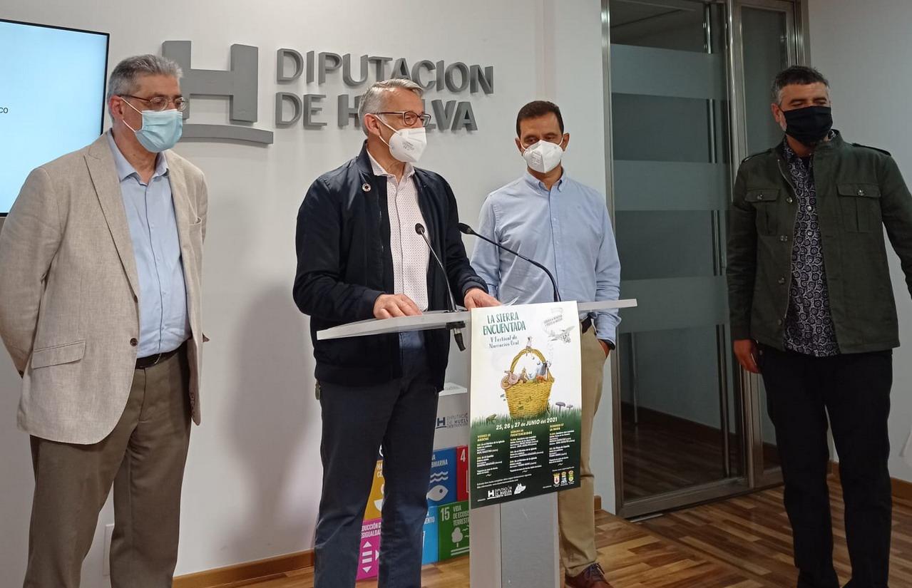 La Sierra de Huelva se llenará de cuentos los días 25, 26 Y 27 de junio