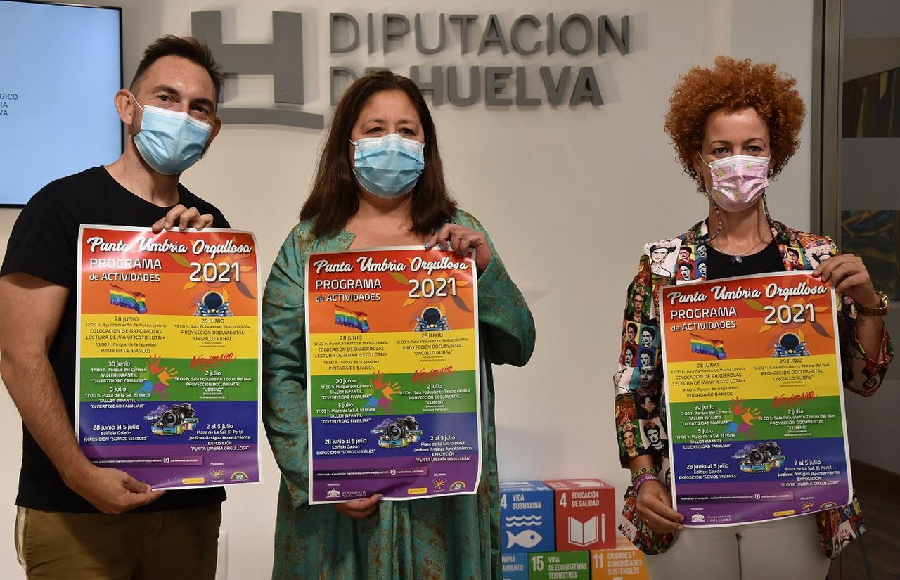 Punta Umbría celebra el Orgullo LGTBI con ocho actividades del 28 de junio al 5 de julio