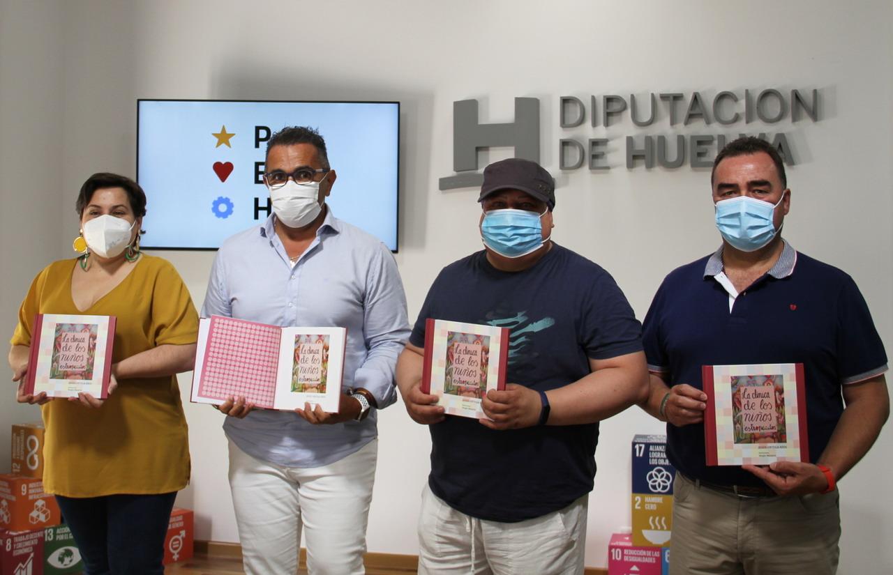 """Diputación edita el cuento 'La clínica de los niños """"estropeados"""" a beneficio de la asociación villablanquera ARISELVI"""