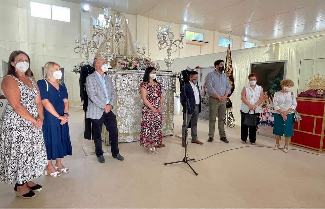 El Centro Municipal de Mayores «Santa Mª de la Bella» acoge del 6 al 10 de julio la exposición de enseres de la Hermandad de Ntra. Sra. del Carmen de Lepe