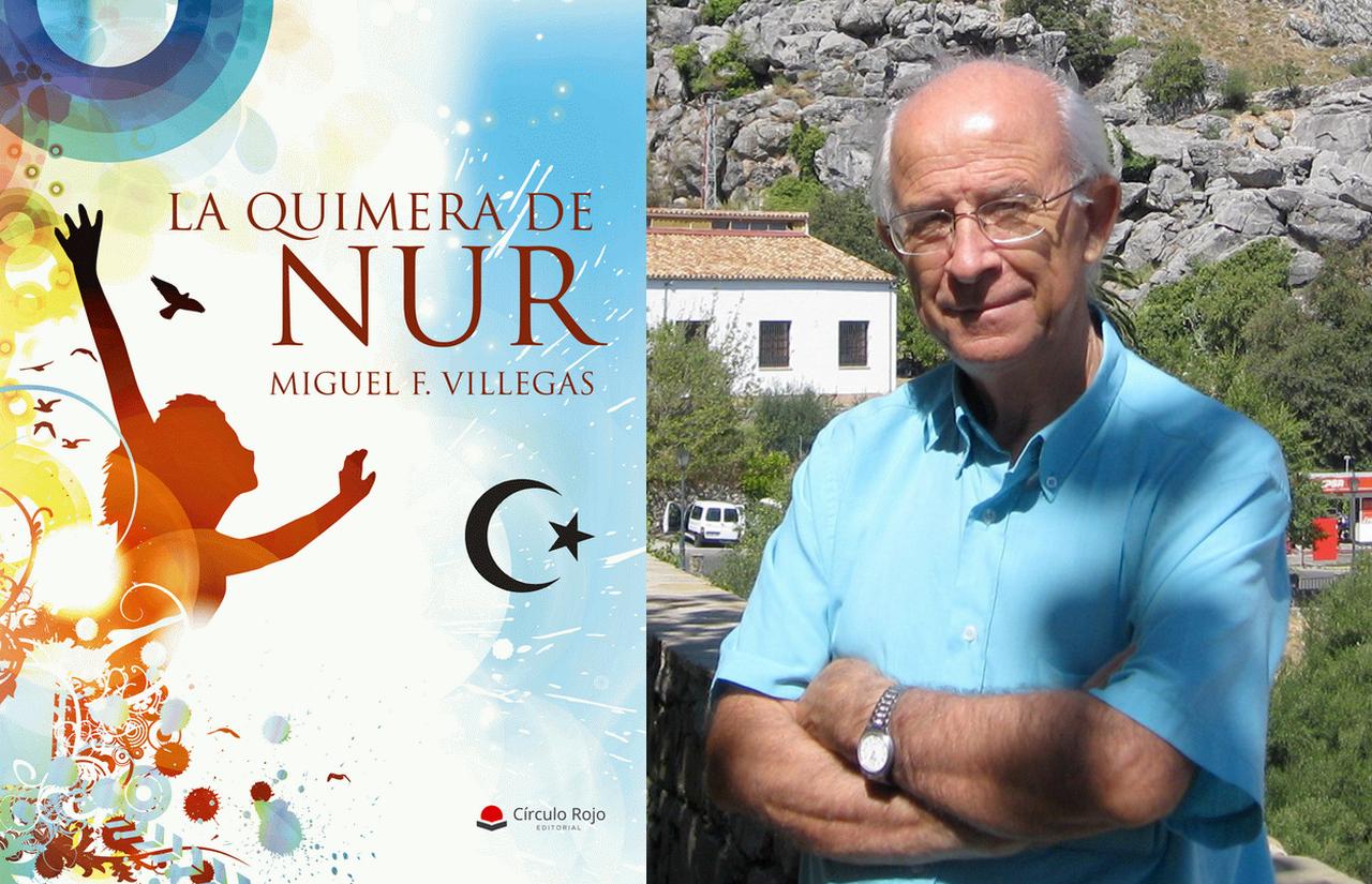 Miguel F. Villegas presenta su sexta novela «La Quimera de Nur»