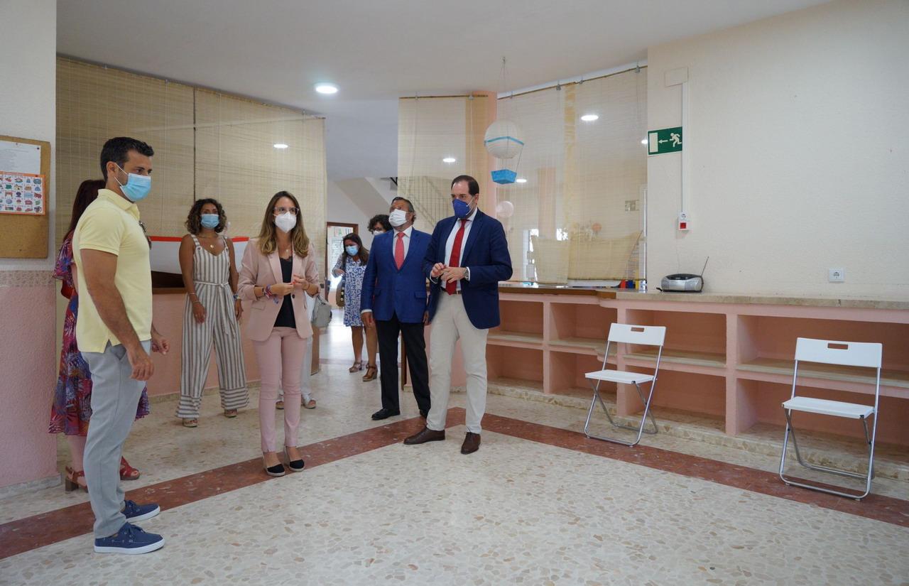 Inaugurado el Punto de Encuentro Familiar de Ayamonte