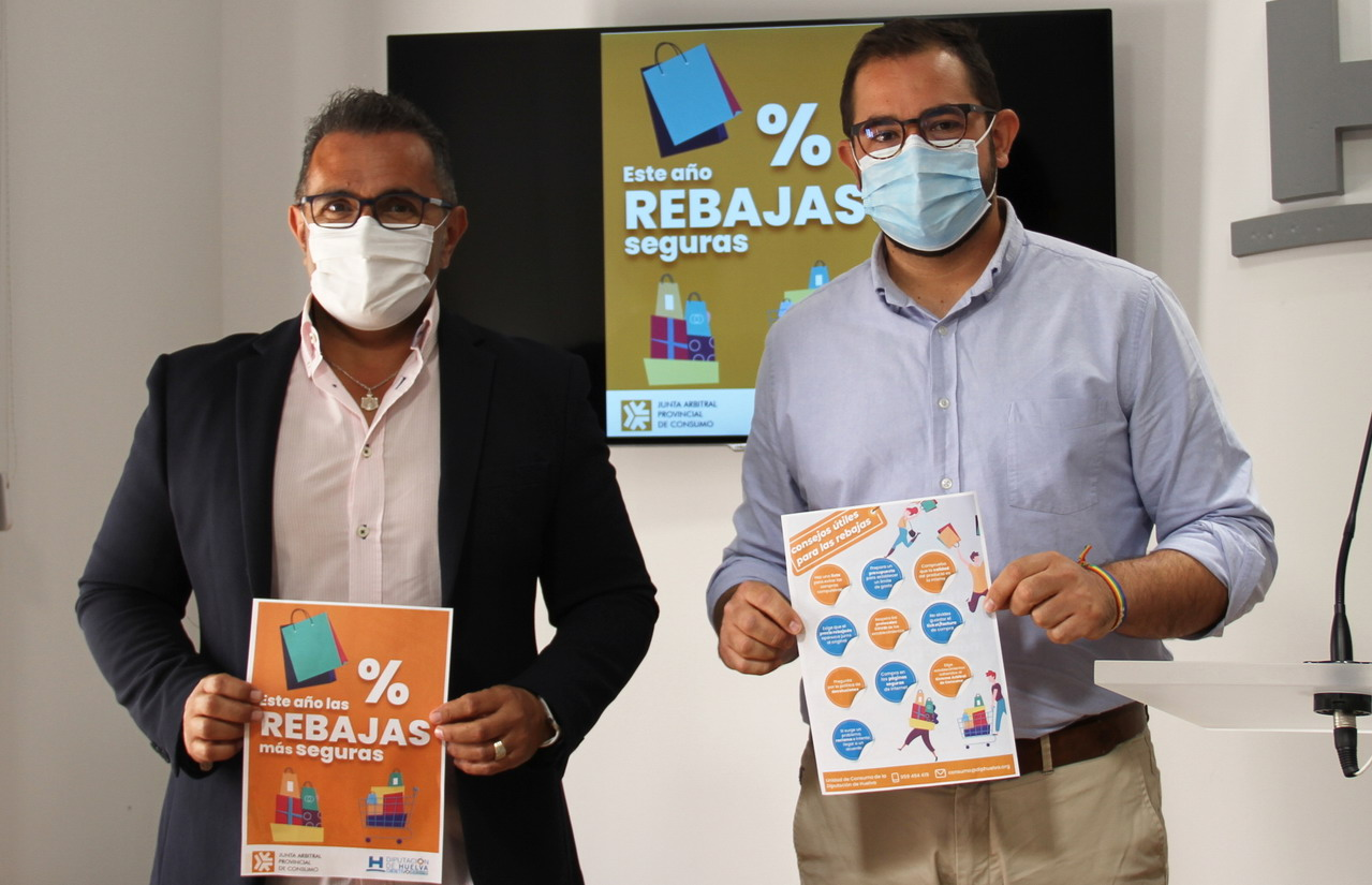 La Unidad de Consumo de Diputación lanza una campaña informativa sobre las rebajas de verano 2021 en la provincia
