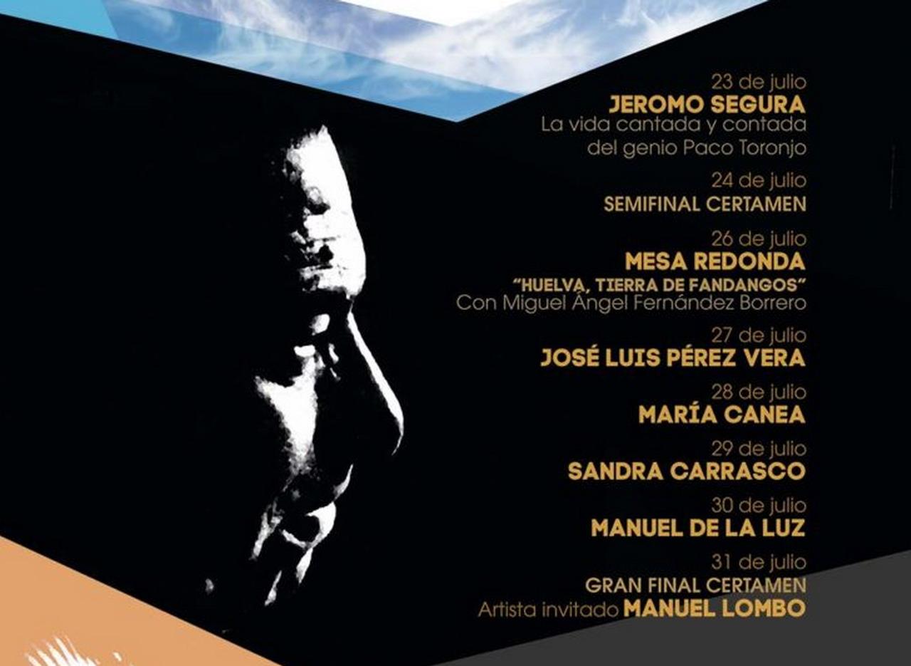 Alosno celebra la final del 24º Certamen de Nacional de Fandangos Paco Toronjo