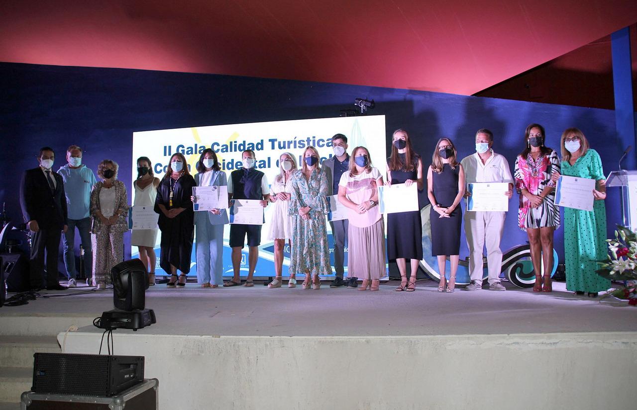 Islantilla hizo brillar la excelencia de la Costa Occidental de Huelva con la II Gala de la Calidad Turística