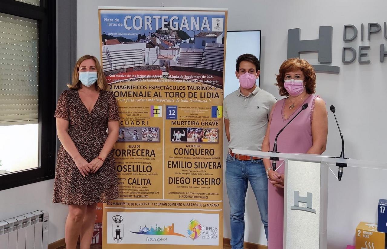 Presentado el cartel de la Feria Taurina de Cortegana